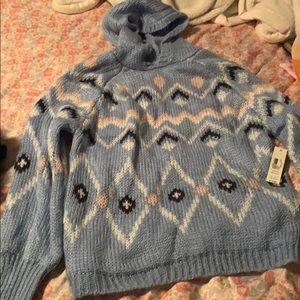 No Boundaries Hooded Sweater